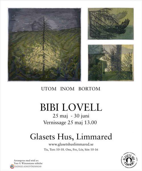 Bibi Lovell - Utställning Glasets Hus 2019